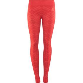 Odlo Suw Natural + Kinship Warm Bl Pantalones interiores Mujer, rojo